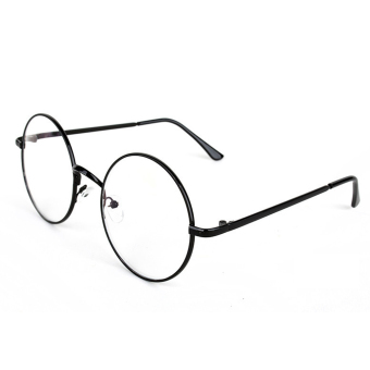 Round Glasses Dress Up Spectacles (Black)