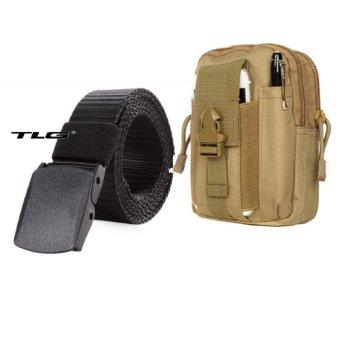 Túi Đeo Hông Cao Cấp Đa Năng + Thắt Lưng Dù Chiến Thuật Thành Long TL8057-915