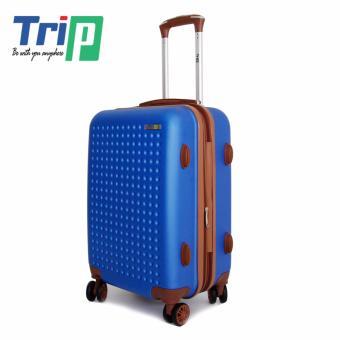 Vali nhựa Trip P803A size 60cm ( Xanh dương)