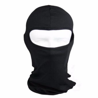 Mũ trùm đầu ninja hở mắt đa năng đi phượt (đen)