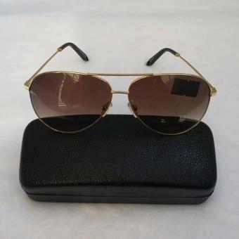 Mắt kính nữ cao cấp thời trang hàn quốc Vương Kim Thành MK2980ADPLKH ( Vàng Tràm )
