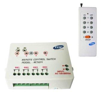 Bộ công tắc điều khiển từ xa 4 kênh TPE RC5G4 combo