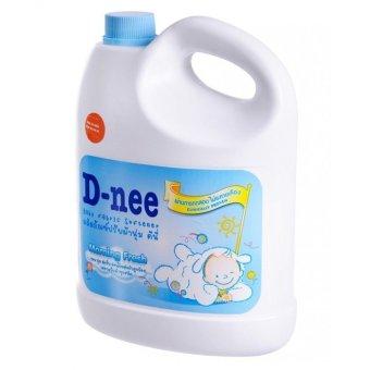 Dung dịch giặt xả quần áo em bé D-nee 3L (Xanh)
