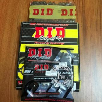 sên nhông dĩa EXCITER 150 DID thương hiệu nhật sản xuất thái lan DID 428HDS x 122l-14T-42T (có mã truy suất hàng thật trên bao bì) Thanh Khang