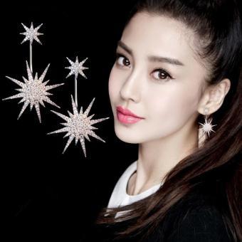 Bông tai cánh sao bạc S925 Hàn Quốc