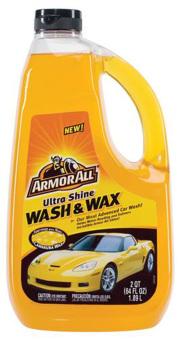Armorall Ultra Shine Wash & Wax 1.89L - Xà bông rửa xe cao cấp