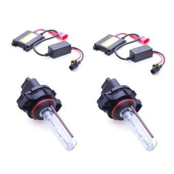 Bộ 2 đèn xenon HID 9007 pha cos xe ô tô 35W 6000K (Trắng)