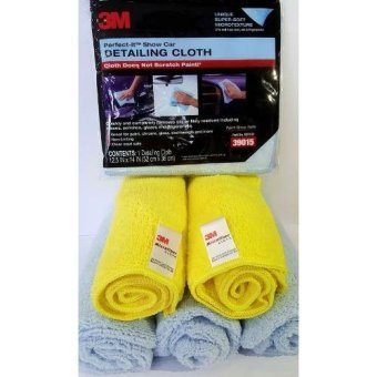 Bộ 5 khăn lau xe micro fiber