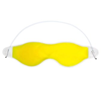 Ice Compress Gel Aid-sleeping Eye Care Eye Shield Blinder Yellow - Intl