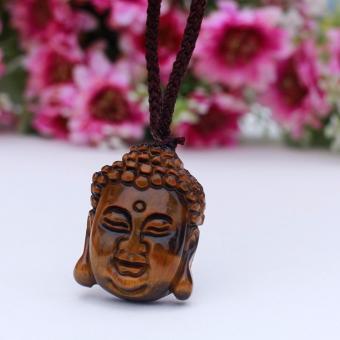 Mặt dây Phật đá mắt hổ Mixi