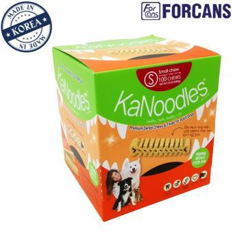 Kẹo bảo vệ răng miệng cho thú cưng KaNoodles Forcans size S (dạng hộp 680g)