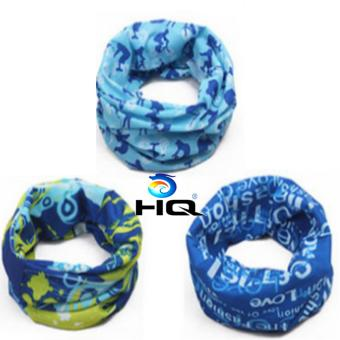 Bộ 3 Khăn Đi Phượt Đa Năng HQ 3TI11-1 (xanh)