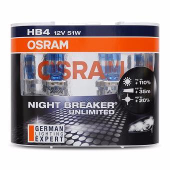 Bộ 2 bóng đèn ô tô HB4 Night Breaker Unlimited ( Trắng xanh )