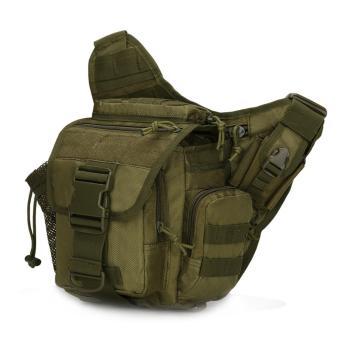 Túi đeo hông máy ảnh Du lịch Bụi phong cách QĐ Mỹ (Xanh bộ đội)