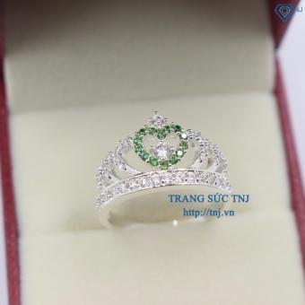 Nhẫn bạc nữ queen ring - nhẫn vương miện NN0300