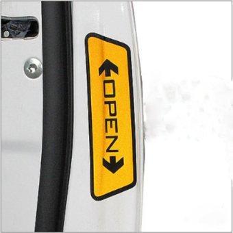 Chữ OPEN cảnh báo dán cánh ô tô TL30
