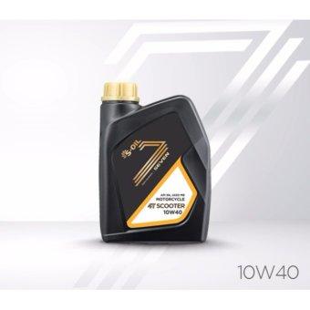 Dầu nhớt hoàn toàn tổng hợp dành cho xe máy 4 thì S-oil 7 4T Scooter 10W-40 API SN JASO MB (1 Lít)