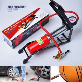 Bơm chân cho xe đạp, xe đạp điện, xe máy, ô tô xách tay.