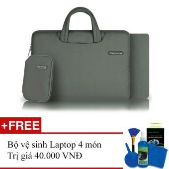 Túi cặp laptop Cartinoe Ambilight 12inch (Xám)