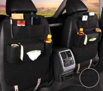 Túi đựng đồ treo sau ghế ô tô (Đen)