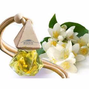 Tinh dầu hương hoa nhài trắng nguyên chất treo gương xe ô tô
