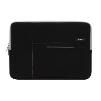 Túi chống sốc JCPAL Neoprene Sleeve 13in cho Macbook Air/Pro (Đen viền xám)