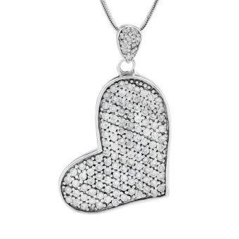 Mặt dây chuyền bạc nữ Bạc Ngọc Tuấn T02MAU000388