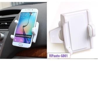 Bộ 2 Giá đỡ điện thoại trên xe ô tô VIPauto-GĐ01 - Trắng