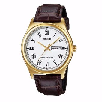Đồng hồ nam dây da Casio MTP-V006GL-7B