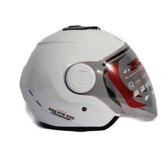 Mũ bảo hiểm GRS A649k Trắng bóng