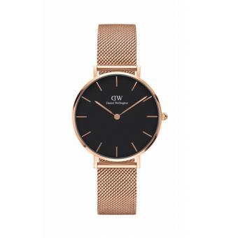 Đồng hồ nữ Daniel Wellington DW CLASSIC PETITE MELROSE BLACK 32mm DW00100161