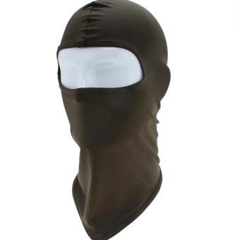 Khăn Trùm Mặt Nạ Ninja Màu (Xanh Lính)