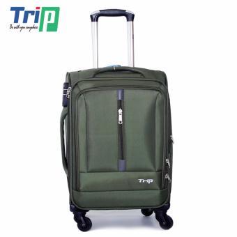 Vali Vải TRIP P031 Size S - 20inch (Xanh rêu)