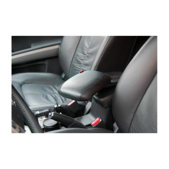 Kê tay trên ô tô bằng da cao cấp(màu đen)