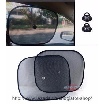 Bộ 2 tấm màn che nắng tròn cho cửa sổ ô tô