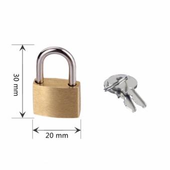 Ổ khóa mini BL411 dành cho vali, balo, túi xách