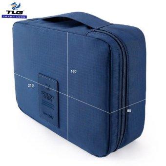 Túi xách du lịch đựng đồ cá nhân cao cấp Đồ Da Thành Long TLG 208090 3(tím than)