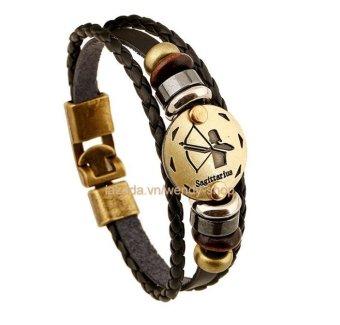 Vòng đeo tay Nam hình 12 chòm sao hoàng đạo cung Sagittarius - Nhân Mã - VĐT07