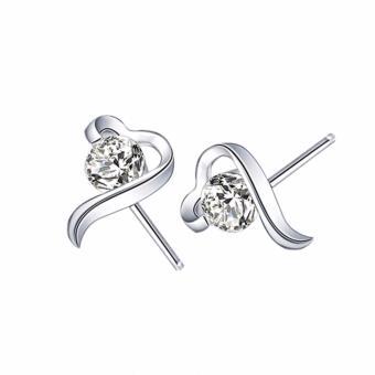 Bông tai nữ nhỏ xinh đính đá T173 - BT49
