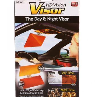 Kính chống lóa khi lái xe hơi (ô tô) ngày đêm (Nâu và Cam)