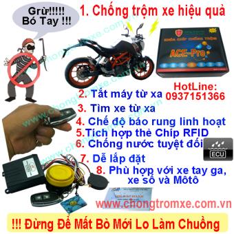 Khóa chống trộm xe máy ACE-Pro