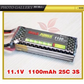 Pin Lipo 1100 mA, 25C 3S