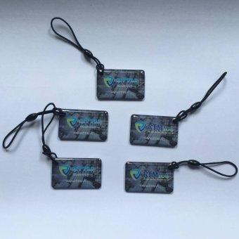 Bộ 5 móc khoá thẻ từ RFID epoxy 125 KHz