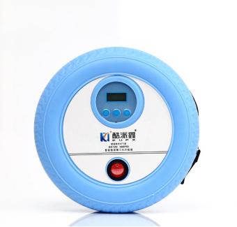Bộ bơm lốp mini kèm Adapter đổi nguồn cho xe hơi KPX-8023 xanh