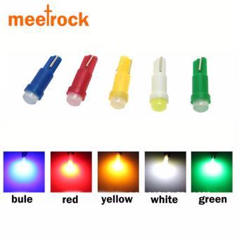 Bộ 5 bóng LED T5 gắn bảng đồng hồ ô tô, xe máy meetrock (5 màu)