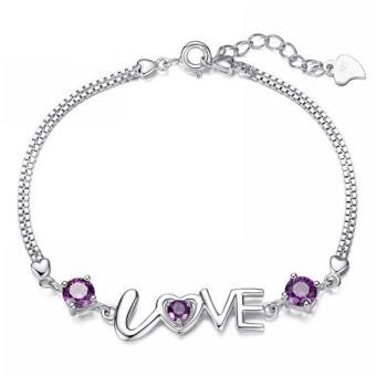 Lắc tay chữ LOVE yêu thương
