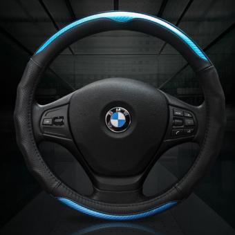 Bọc Vô Lăng da Sport Carbon dành cho mọi dòng xe (xanh đen)