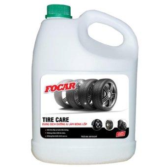 Dung dịch đen và bóng lốp Focar Tire Care 4l
