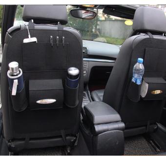 Bộ 2 Túi bao đựng đồ sau ghế xe hơi, ô tô LOẠI 1 kiêm bảo vệ ghế cao cấp H89