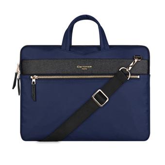Túi laptop đeo vai Cartinoe London style 13 inch (Xanh biển)